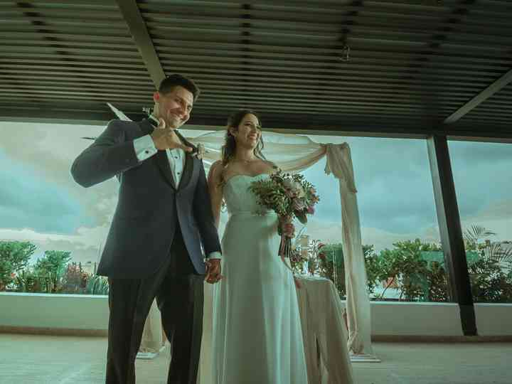 La boda de Mariana y Erick