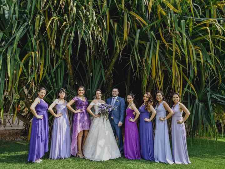 La boda de Lore y Fede