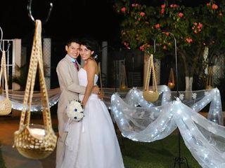 La boda de Minerva y Yei 1