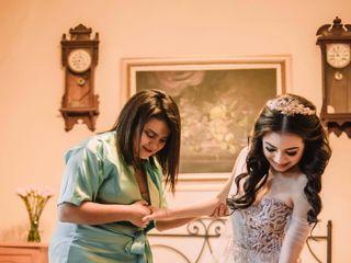 La boda de Andrea  y Ulises  2