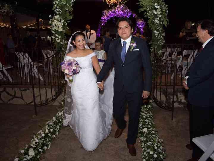 La boda de Angie y Yadir