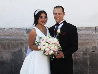La boda de Isaac y Cynthia