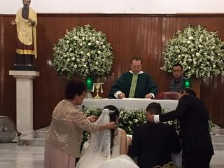 La boda de Leslie Lourdes  y Jose Luis  1