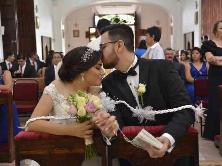 La boda de Ana Victoria y Yair
