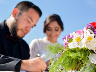 La boda de Gina y Hermes 1
