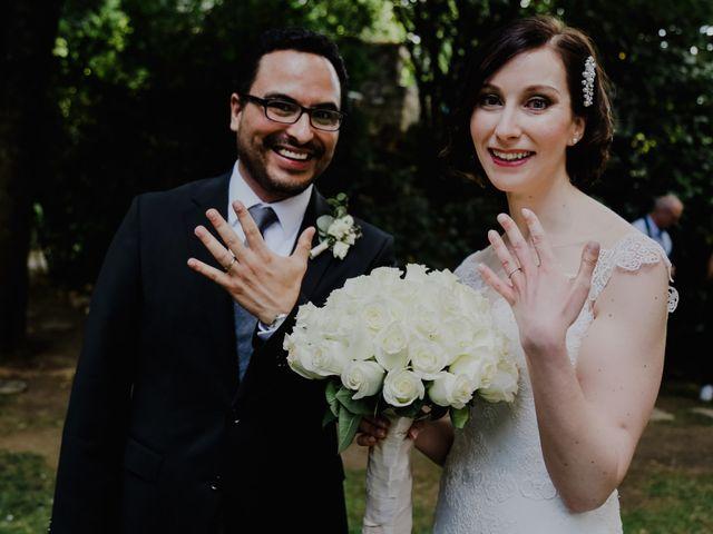 La boda de Astrid y Fernando