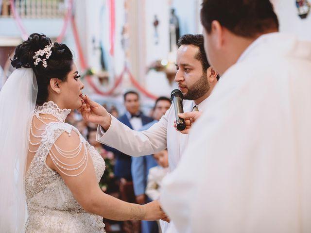 La boda de Carlos y Cinthia en Texcoco, Estado México 15