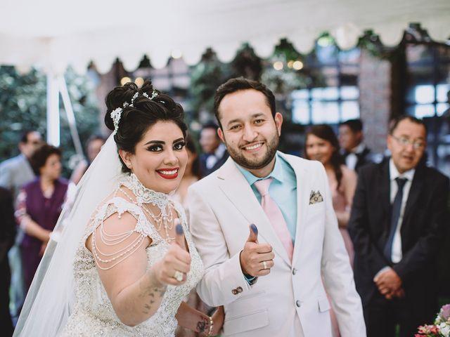 La boda de Carlos y Cinthia en Texcoco, Estado México 21