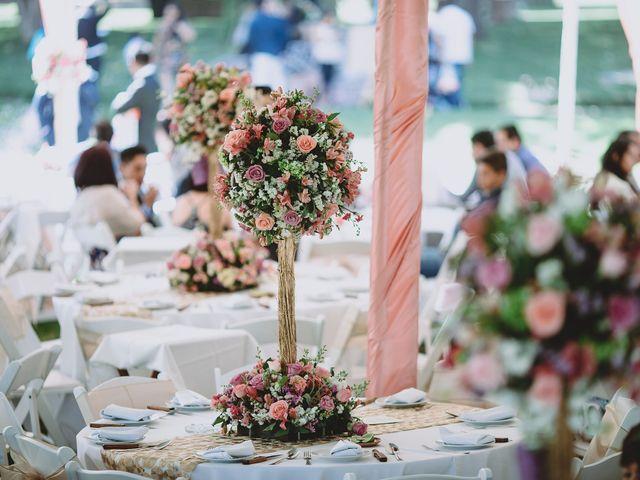 La boda de Carlos y Cinthia en Texcoco, Estado México 23