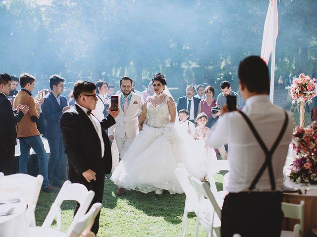 La boda de Carlos y Cinthia en Texcoco, Estado México 24