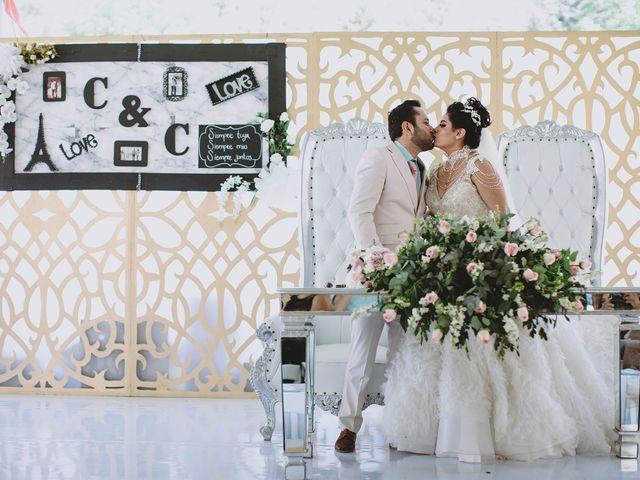 La boda de Carlos y Cinthia en Texcoco, Estado México 26