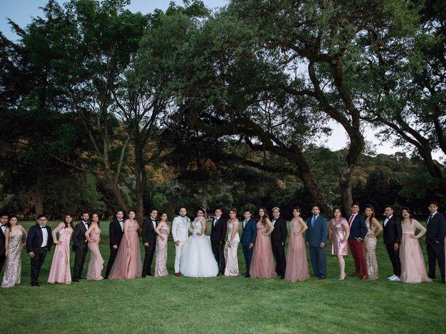 La boda de Carlos y Cinthia en Texcoco, Estado México 33