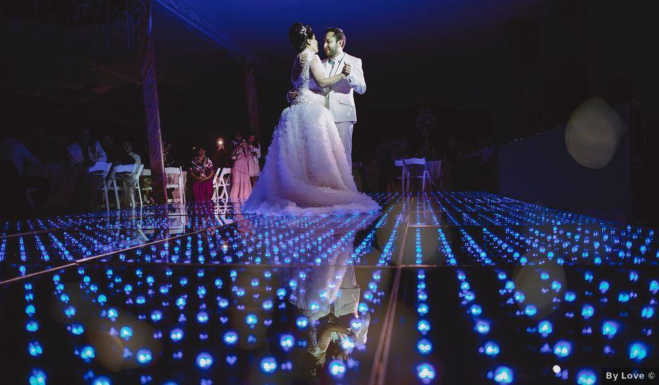 La boda de Carlos y Cinthia en Huixquilucan, Estado México