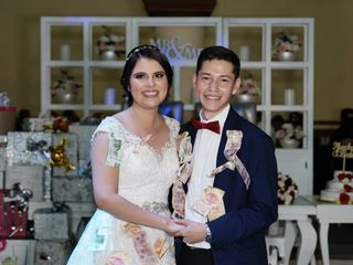 La boda de Sarahí y Alexis