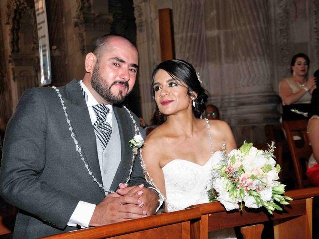 La boda de  Valentín y América en Aguascalientes, Aguascalientes 2