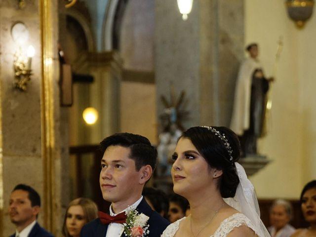 La boda de Alexis y Sarahí en Guadalajara, Jalisco 34