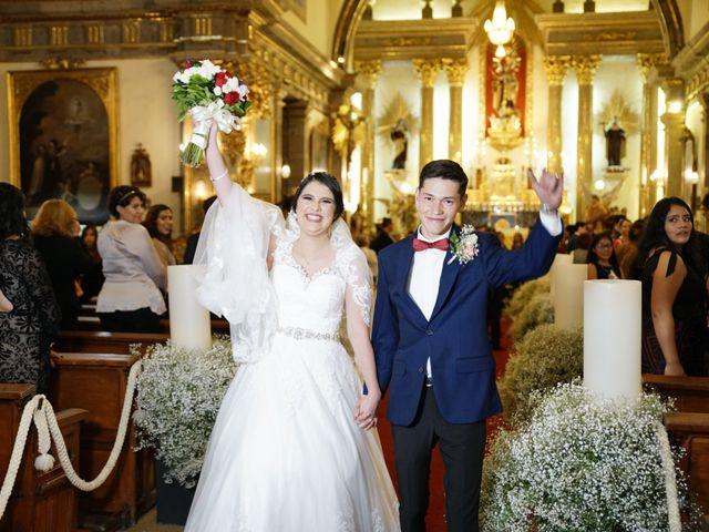 La boda de Alexis y Sarahí en Guadalajara, Jalisco 38