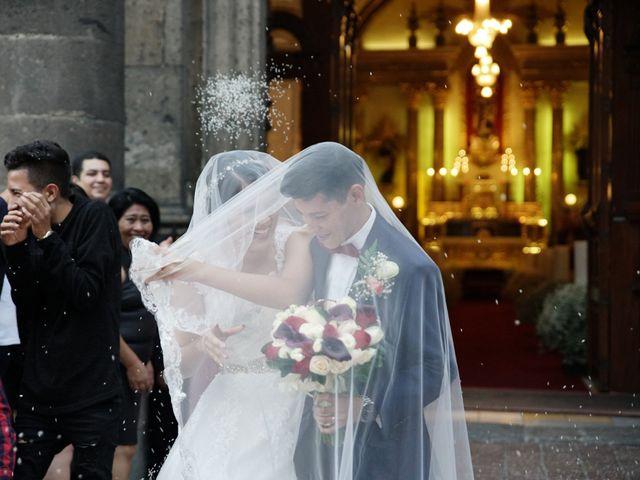 La boda de Alexis y Sarahí en Guadalajara, Jalisco 39