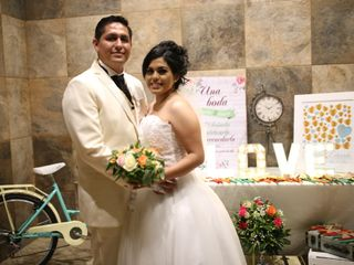 La boda de Eréndira y Eduardo