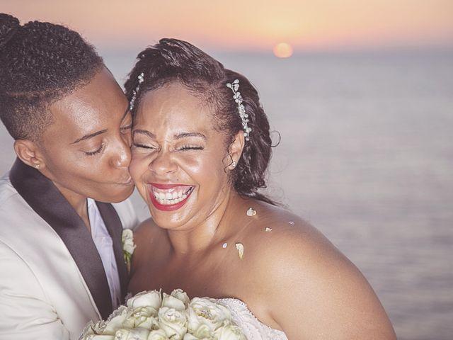 La boda de Shannon y Tramamine