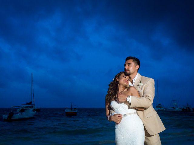 La boda de Saini y David