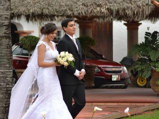 La boda de Audrey  y Andrés