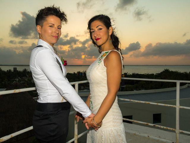 La boda de Itzy y Dana