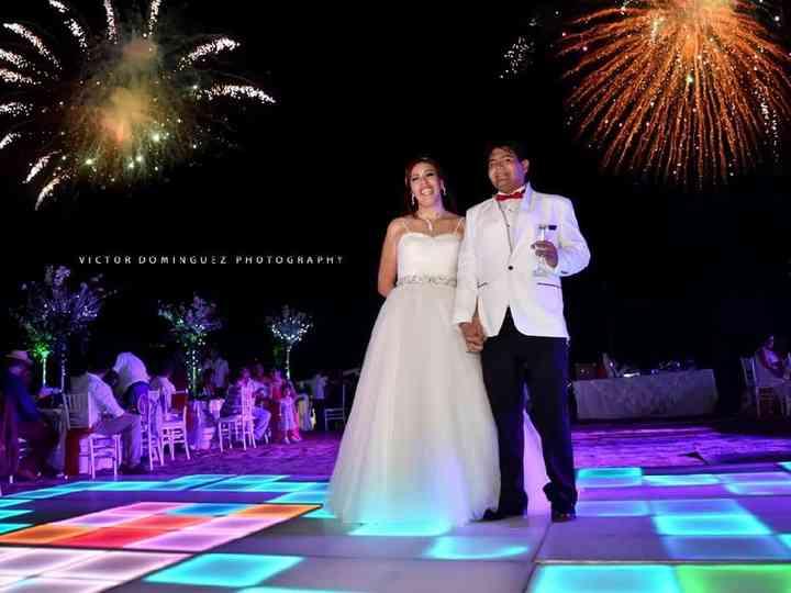 La boda de Pamela  y Angel