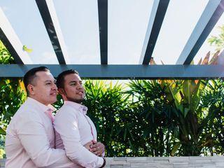 La boda de Emmanuel  y Daniel  1