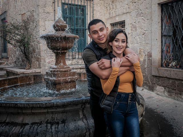 La boda de Cristopher  y Wendy en Morelia, Michoacán 3