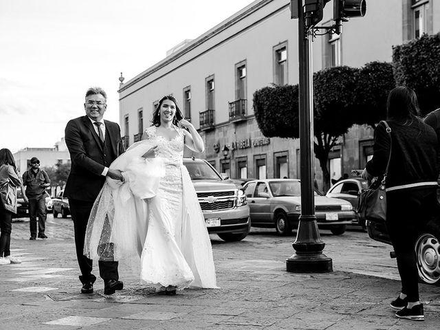 La boda de Victor y Kallycia en Querétaro, Querétaro 24