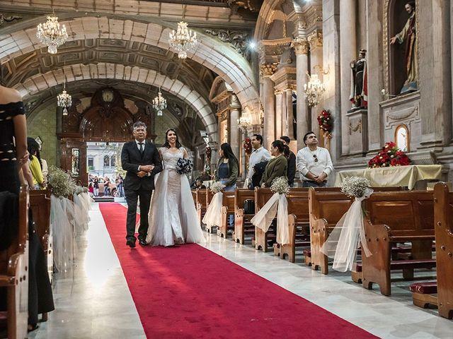 La boda de Victor y Kallycia en Querétaro, Querétaro 25