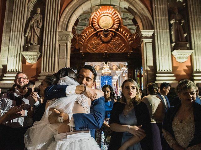 La boda de Victor y Kallycia en Querétaro, Querétaro 34