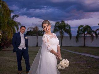 La boda de Paty y Roman