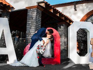 La boda de Angie y Osiel