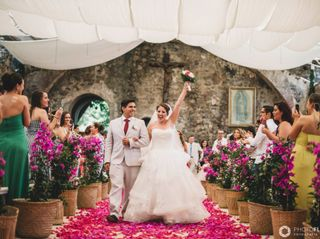 La boda de Alexandra y Efrén