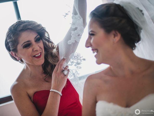 La boda de Efrén y Alexandra en Jiutepec, Morelos 15