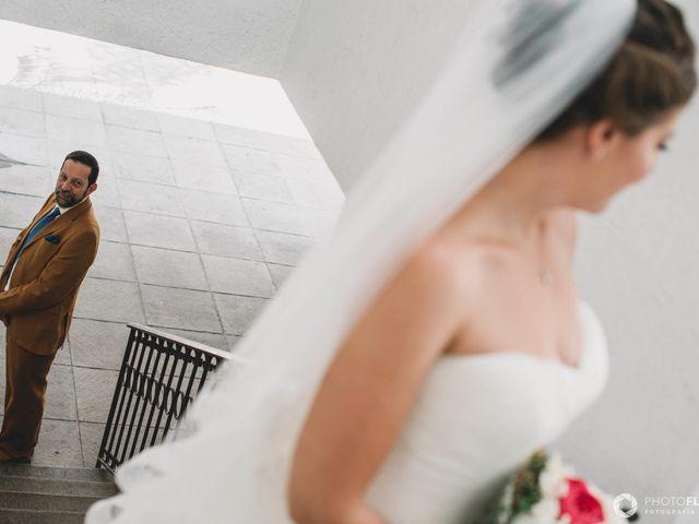 La boda de Efrén y Alexandra en Jiutepec, Morelos 16