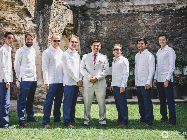 La boda de Efrén y Alexandra en Jiutepec, Morelos 21