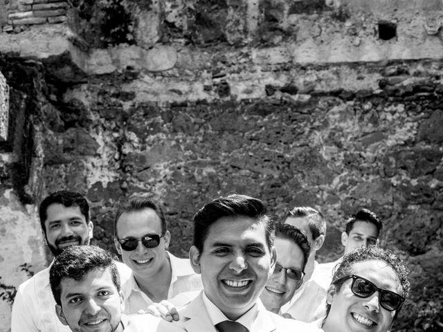 La boda de Efrén y Alexandra en Jiutepec, Morelos 22