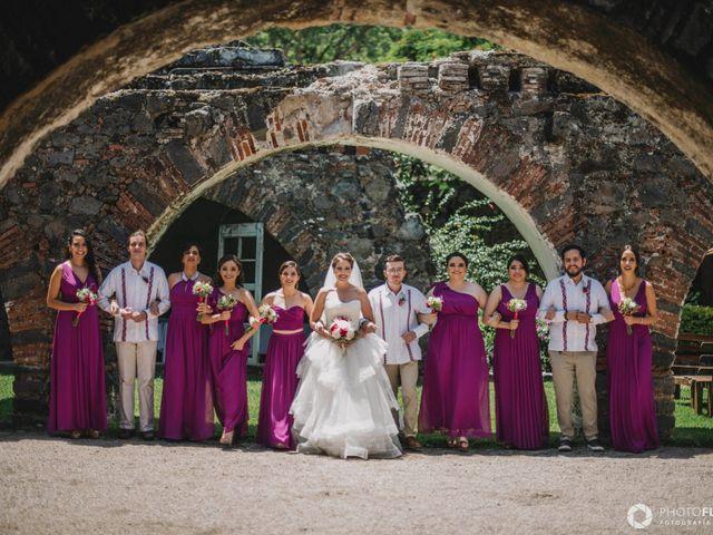 La boda de Efrén y Alexandra en Jiutepec, Morelos 25