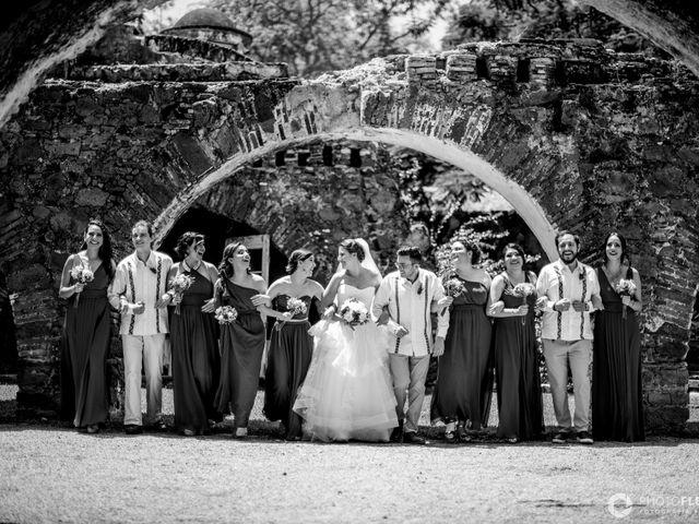 La boda de Efrén y Alexandra en Jiutepec, Morelos 26