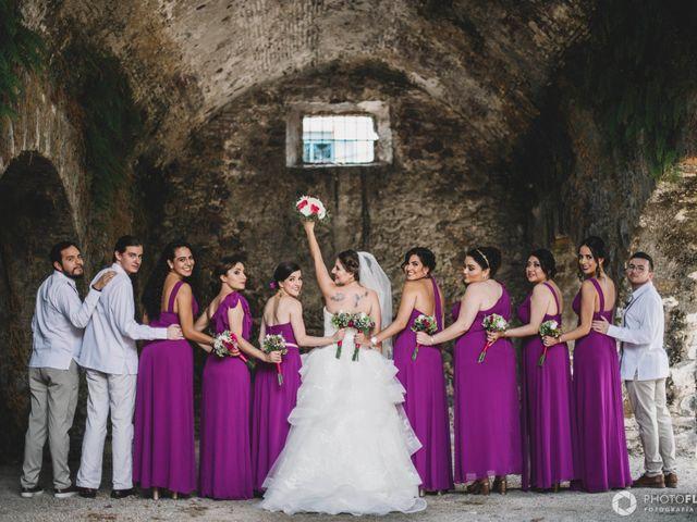 La boda de Efrén y Alexandra en Jiutepec, Morelos 29