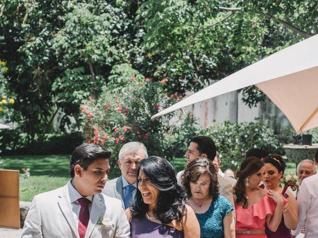 La boda de Efrén y Alexandra en Jiutepec, Morelos 32