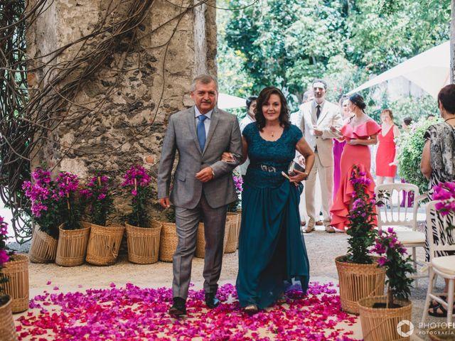 La boda de Efrén y Alexandra en Jiutepec, Morelos 34