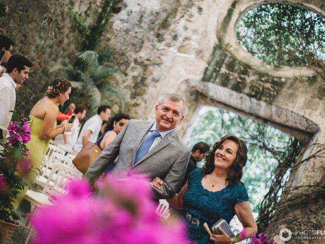 La boda de Efrén y Alexandra en Jiutepec, Morelos 35