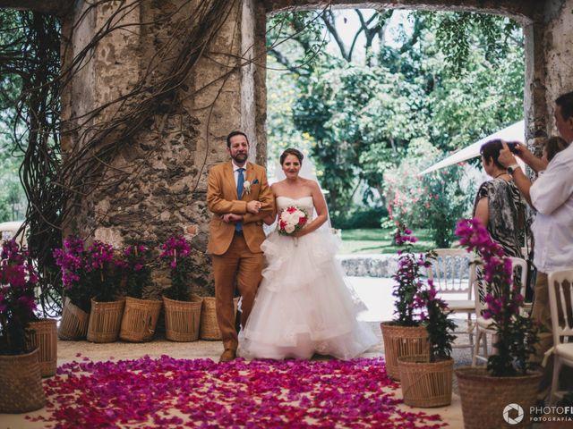 La boda de Efrén y Alexandra en Jiutepec, Morelos 39