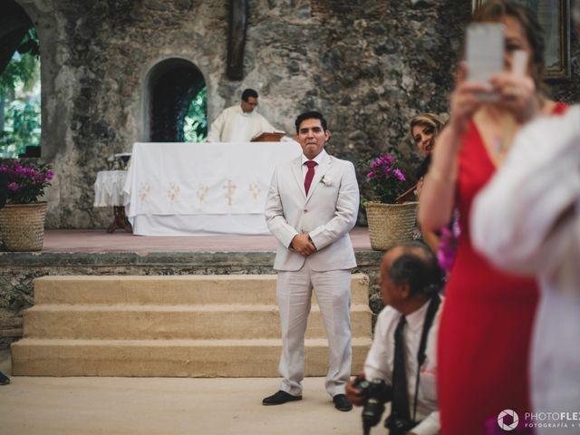 La boda de Efrén y Alexandra en Jiutepec, Morelos 40