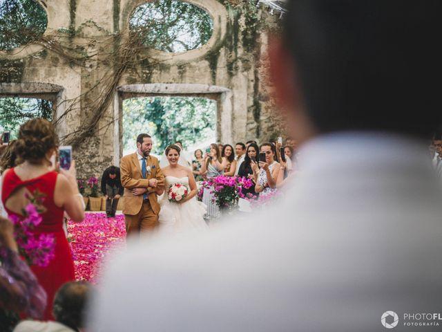 La boda de Efrén y Alexandra en Jiutepec, Morelos 41
