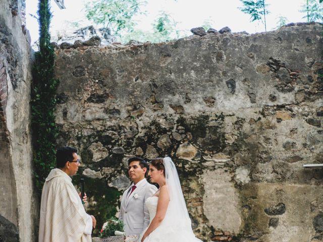 La boda de Efrén y Alexandra en Jiutepec, Morelos 42